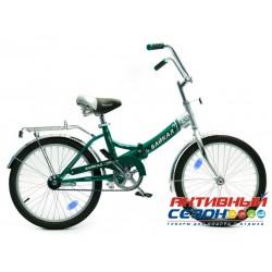 """Велосипед складной Байкал (20"""" 1 скор.) (Цвет: Светло-Зеленый (Бирюзовый)) Рама Сталь"""