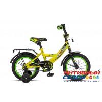 """Детский велосипед MaxxPro Sport 14"""" (Белый/Черный/Голубой (Z14207); Серый/Черный /Зеленый (Z14208); Серебро/Черный/Красный (Z14210); Белый/Черный/Фиолетовый (Z14211); Серый / Черный  / Желый (Z14212))"""