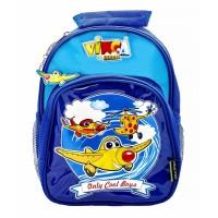 Сумка-рюкзак синяя, 270*210*65 мм