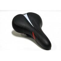 Седло MTB 2678-01 265*165mm, комфорт,анатомическое,черное
