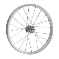 """Колесо 20"""" переднее(без резины), одинарный алюм.обод 36 отв, втулка сталь, гайка для велосипедa"""