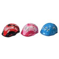 Шлем пенопласт., 3 цвета в ассорт. син, красн., роз.