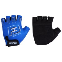 Перчатки летние STG для велосипедa, синие (M,L,XL)