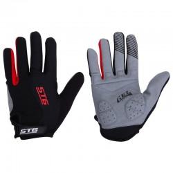 Перчатки с длинными пальцами STG для велосипедa
