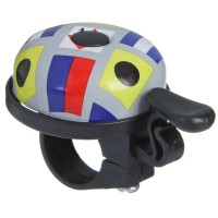 Звонок ударный для велосипедa (цветной)