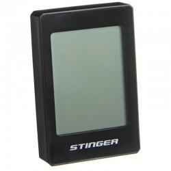 Велокомпьютер STG, 22 функций, проводной, подсветка, черный. для велосипедa