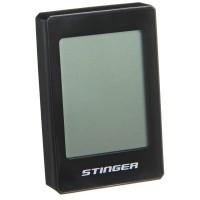 Велокомпьютер STG, 22 функций, безпроводной, подсветка, черный. для велосипедa