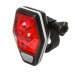 Фонарь STG задний TL5437, 4 красных диода по 0, 5 ватт, с линзами, прорезиненная кнопка