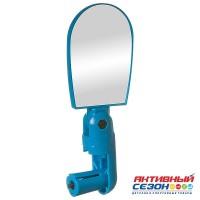 Зеркало для велосипеда BC-BM101 c крепление в руль. С регулировкой  Угла. (Красное, Желтое, Синие)