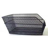 Корзина на багажник 400х280х180мм (черная/с крепежом)