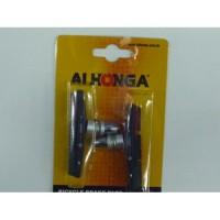 """Колодки тормоза """"ALHONGA"""" HJ-742.13T3(72mm), всесезонные, черно/серо/оранжевые, инд.упак. (блистер), Тайвань"""
