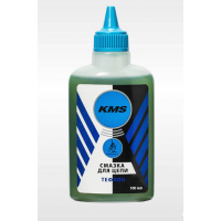 """Смазка для цепи """"KMS"""", тефлоновая, для сухих погодных условий, 100мл."""