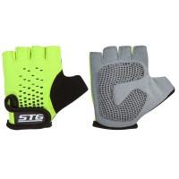 Перчатки летние STG детские для велосипедa AL-03-511 (зелено-черные)