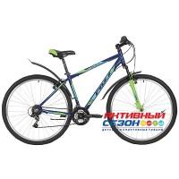 """Велосипед Foxx Atlantic (29"""" 18 скор.) (Р-р = 18"""" 20""""; Цвет: Белый, Синий) Рама Алюминий"""