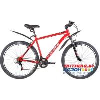 "Велосипед Stinger Caiman D (27,5"" 18 скор.) (Р-р= 16"", 18"", 20"" , Цвет: Красный) Рама Сталь"