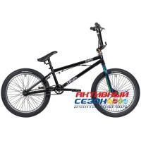 "Велосипед Stinger 20"" BMX GANGSTA 10""  ( 1 скор.) (Цвет: неохром) Рама Сталь"