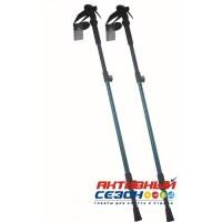 Палки треккинговые Himalayas(105-135 см) 3-х секционные ручка EVA удлиненная, al6061 1/30