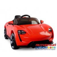 Машина на аккумуляторе, 6V/4.5AH*2, Р/У свет, звук, мр3, USB, индикатор заряда, белый, красный, 112*