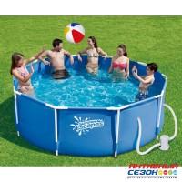 Каркасный бассейн Summer Escapes (305х107см) + фильтр-насос