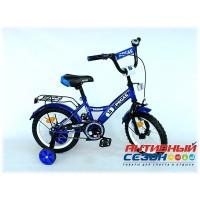 """Детский велосипед Pegas 14"""" (Зеленый / Черный; Синий; Синий / Красный; Красный / Черный)"""