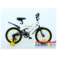 """Детский велосипед ZOOM 16"""" (Белый)"""