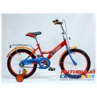 """Детский велосипед Pegas 20"""" (Синий; Синий / Красный)"""