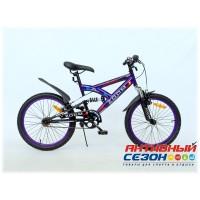 """Велосипед MTB ZOOM 20"""" (Синий)"""