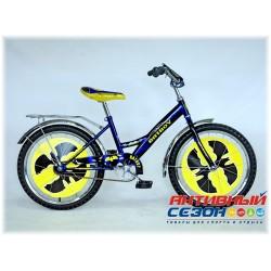 """Велосипед Batboy 20"""" (Черный / Синий )"""