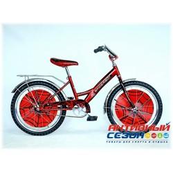 """Велосипед Spiderboy 20"""" (Красный / Черный )"""