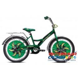 """Детский велосипед Черепашка 20"""" (Зеленый)"""