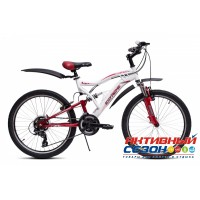 "Велосипед Extreme (24"" 21 скор.) (Цвет: Синий) Рама Сталь"