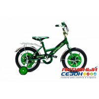 """Велосипед Черепашка 14"""" (Зеленый)"""