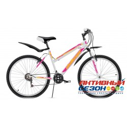 Challenger Alpina (2016) (26 дм. 18 скор.) (Р-р = 14,5; Цвет: Белый / Розовый) Рама Сталь