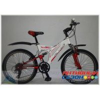 """Велосипед Extreme ABT-2403 (24"""" 21 скор.) (Р-р = 16""""; Цвет: Красный) Рама Сталь"""