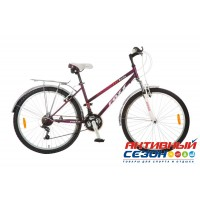 """Велосипед FOXX BIANKA (26"""" 18 скор.) (Р-р = 16""""; Цвет: Фиолетовый) Рама Сталь"""