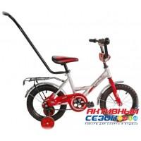 """Велосипед 12"""" Мультяшка Френди с ручкой (синий)"""