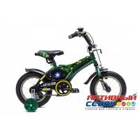 """Детский велосипед Formula Apache 12"""" (Зеленый (Милитари))"""