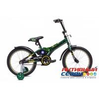 """Детский велосипед Formula Apache 18"""" (Зеленый (Милитари))"""