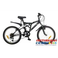 """Велосипед NOVATRACK GAMBIT (20"""" 12 скор.) (Цвет: Серый) Рама Сталь"""