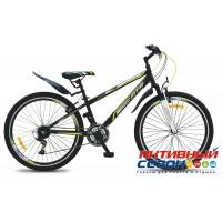 Велосипед MTR 521V (26дм. 18 скор.) (Р-р = 16; Цвет: Фиолетовый; Черный-Лимон)