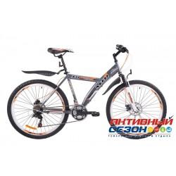 Велосипед MTR Andes Disc 424 D (24дм. 18 скор.) (Р-р = 16; Цвет: Зеленый) Рама Сталь