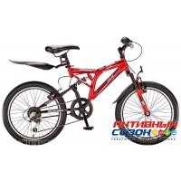Велосипед MTR Speedway 24V (24 дм. 21 скор.) (Р-р = 16; Цвет: Красный) Рама Сталь