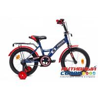 """Детский велосипед Pegas 16"""" (Зеленый / Черный; Синий; Синий / Красный; Красный / Черный)"""