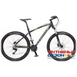 """Велосипед Stinger Genesis 3.7 (27.5"""" 27 скор.)  (Р-р = 18""""; 19.5""""; Цвет: Черный) Рама Алюминий"""