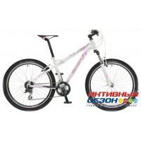 """Велосипед Stinger Omega (26"""" 24 скор.) (Р-р = 18""""; Цвет: Черно-Зеленый; Бело-Розовый) Рама Алюминий"""