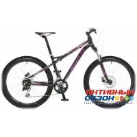 """Велосипед Stinger Omega D (26"""" 24 скор.) (Р-р = 16""""; Цвет: Черный) Рама Алюминий"""