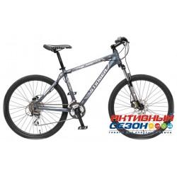 "Велосипед Stinger Reload 2.5 (26"" 24 скор.) (Р-р = 18""; Цвет: Серый) Рама Алюминий"