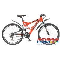 "Велосипед Stinger Versus (26"" 21 скор.) (Р-р = 18""; Цвет: Оранжевый) Рама Сталь"