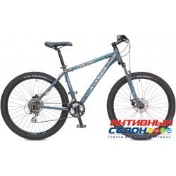 "Велосипед Stinger Reload 2.5 (27.5"" 24 скор.) (Р-р = 18""; Цвет: Серый) Рама Алюминий"