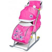 Ника Детям 6 Снегири на ветках (розовый)